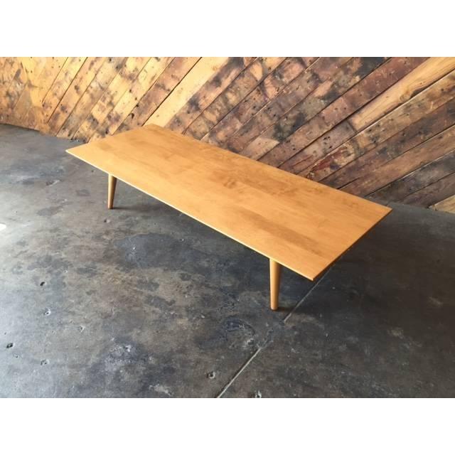 Mid Century Paul McCobb Maple Coffee Table - Image 3 of 5