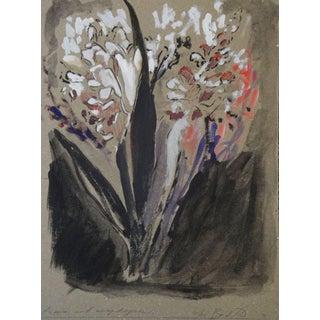"""Freesias & Snapdragons"" Modern Painting"