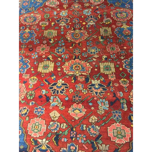 Vintage Persian Bactiari Rug - 6′9″ × 10′2″ - Image 4 of 11