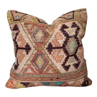 "Vintage Kilim Pillow - 16"" x 16"""