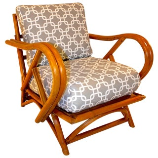 Ritz Tropitan Style Bamboo Lounge Chair