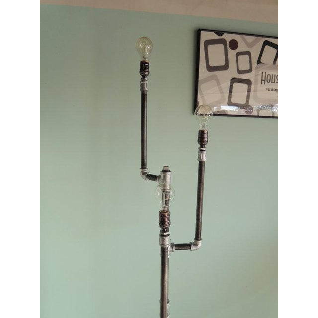 Image of Industrial Steampunk Floor Lamp