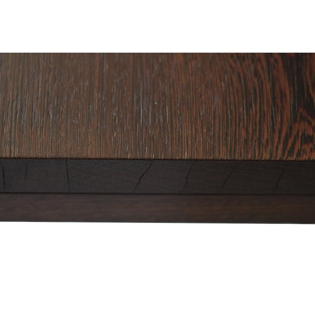 Spencer Fung Custom Wenge Wood Coffee Table - Image 8 of 9
