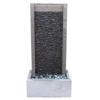 Slate Stack Wall Fountain