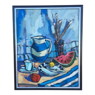 Watermelon Still-Life Painting