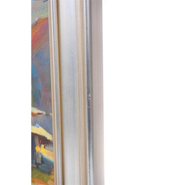 Ovanes Berberian Under the York Bridge Painting - Image 9 of 10