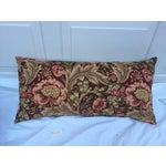Image of Woven Floral Pillow