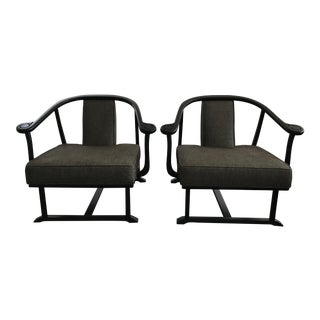 James Mont Style Chairs - A Pair