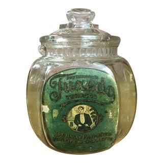 Antique Tuxedo Tobacco Humidor