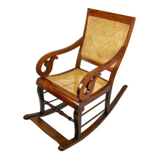 Antique Caribbean Rocking Chair