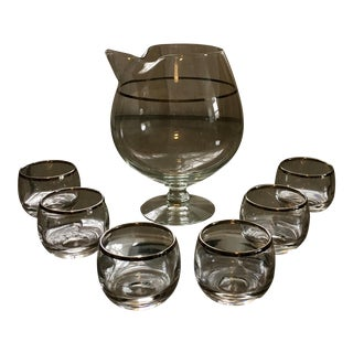 Mid-Century Roly-Poly Cocktail Set - Set of 7