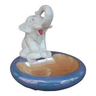 Ceramic Elephant Ashtray