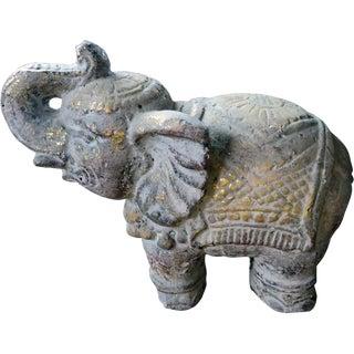 Indonesian Concrete Elephant Statue