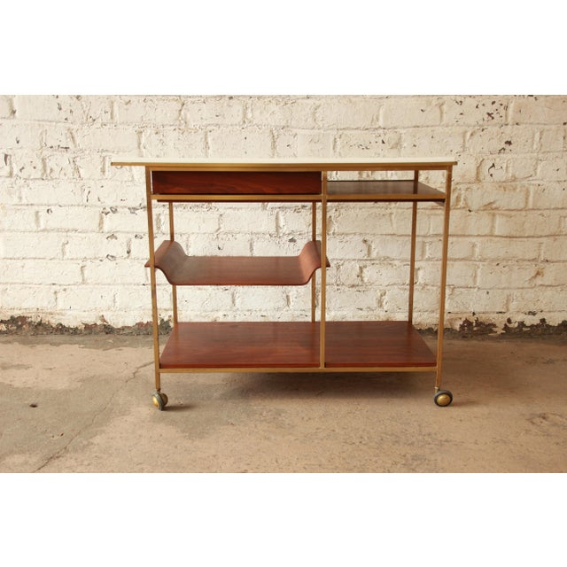 Paul McCobb for Calvin Irwin Collection Bar Cart - Image 9 of 11