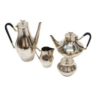 Mid-Century Reed and Barton Tea Set - Set of 4