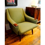 Image of Danish Modern Lounge Chair -h.w. Klein