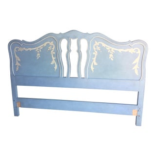 Blue & White John Widdicomb Headboard