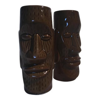Stone Hedge Drinking Vessels - A Pair