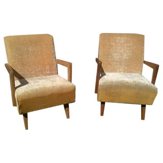 Mid-Century Paoli Chair Co. Rocking Chairs - Pair