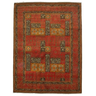 """Suzani, Hand Knotted Area Rug - 8' 1"""" X 10' 7"""""""