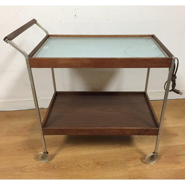 Image of Salton Hot Tray Tea Cart