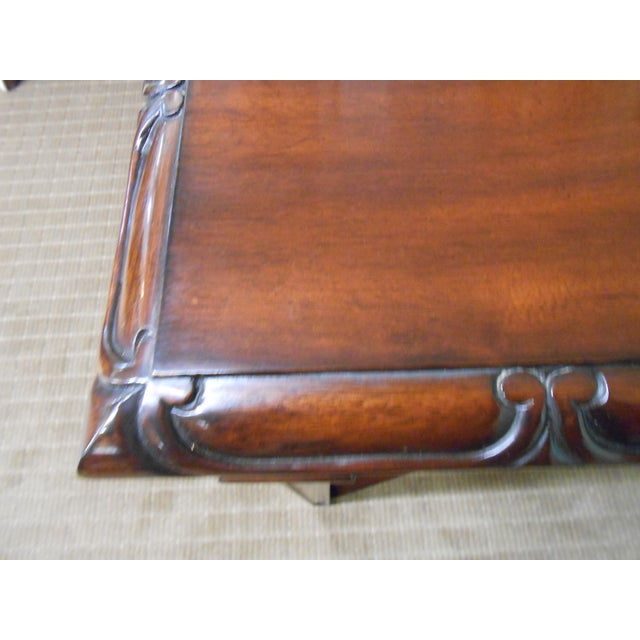 Image of Mariette Himes Gomez Mahogany Console Table