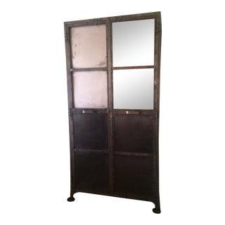 Arhaus Industrial Metal Cabinet