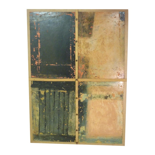 Doug Bell Mixed Media on Canvas - Image 1 of 4