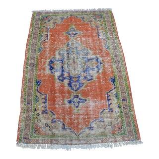 Turkish Decorative Rug - 3′ × 4′5″