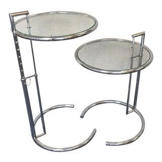Eileen Gray Side Tables - A Pair