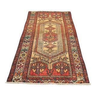 """Vintage Persian Karajeh Runner - 3'6"""" x 7'"""