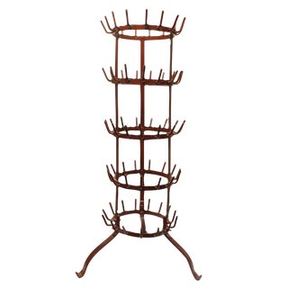 Antique French Large Wine Rack