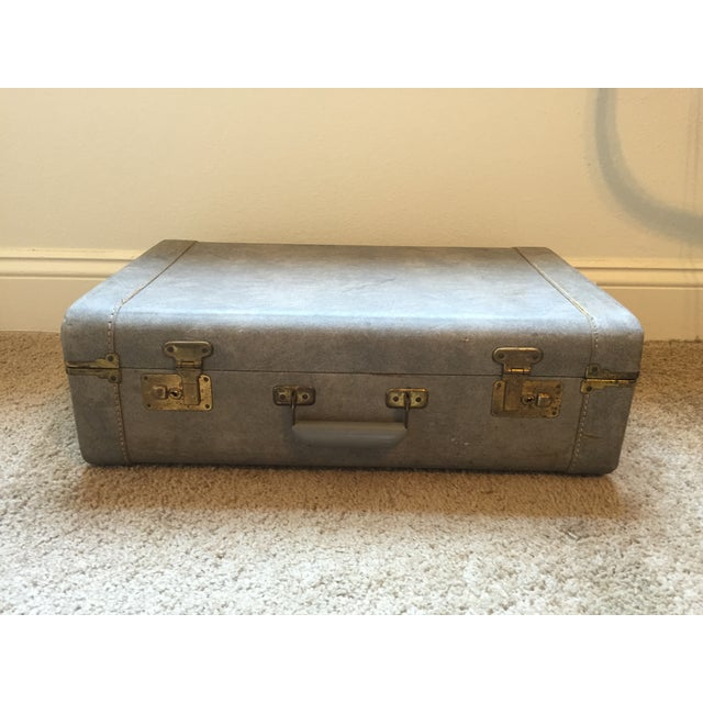1940s Light Blue Suitcase - Image 2 of 8
