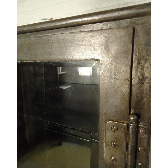 Industrial Metal Display Cabinet - Image 6 of 9