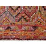 """Image of Vintage Embroidered Turkish Kilim - 5'7"""" x 9'6"""""""