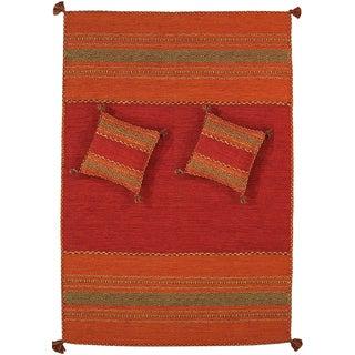 Pasargad Rustic Santa Fe Collection Rug- 8' X 10'