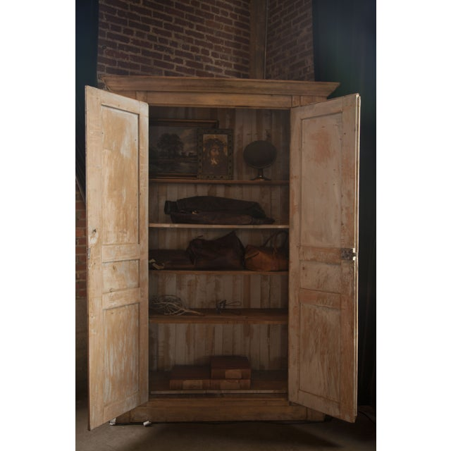 Image of Large French Wardrobe With Removable Shelving