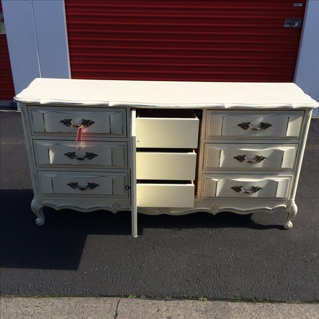 French Provincal Buffet Dresser - Image 3 of 8