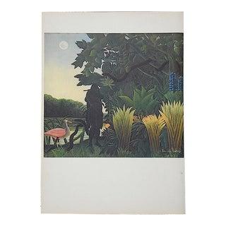 Vintage Lithograph After Henri Rousseau-Verve-Paris-1939