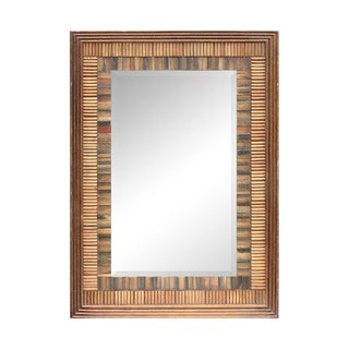 Tropical Multi-Tone Wall Mirror