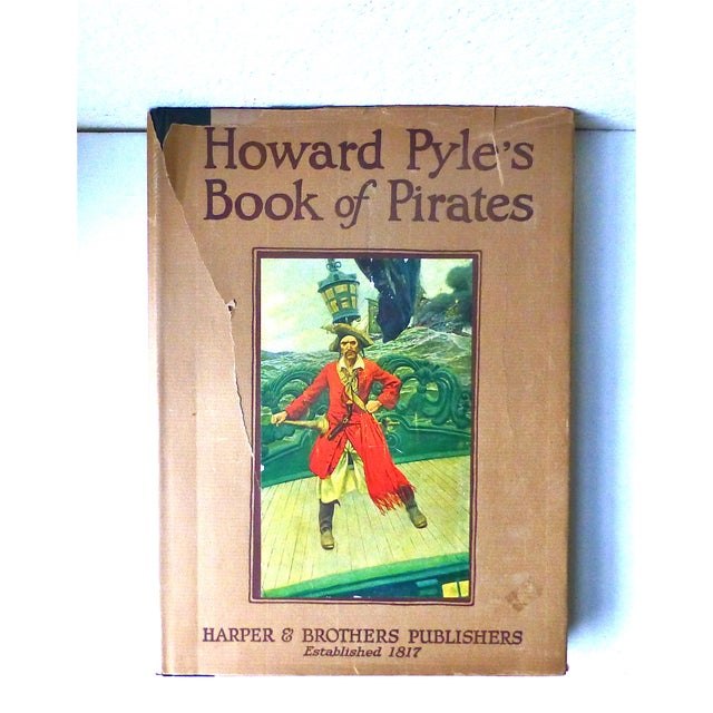 Image of Howard Pyle's Book of Pirates, 1921, First Edition