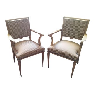 Vintage French 40's Chairs - A Pair