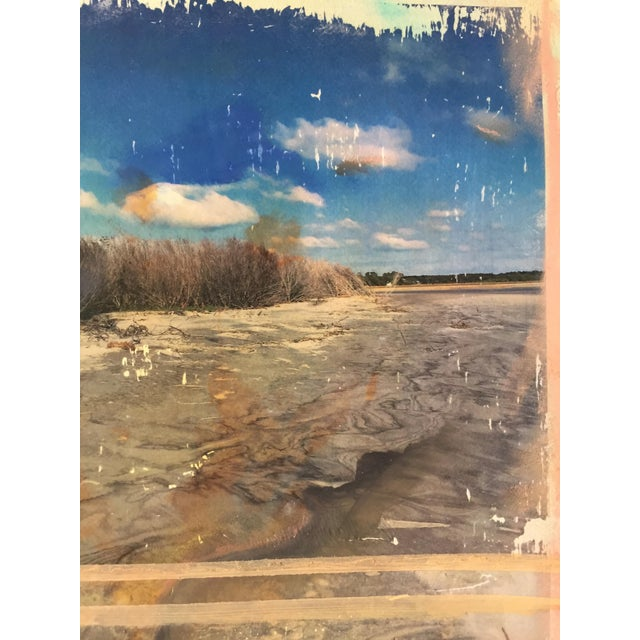 """Beach Morning"" Painting - Image 4 of 4"