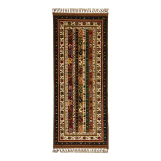 "Traditional Floral Shawl Designed Runner Rug - 2'5"" X 5'9"""