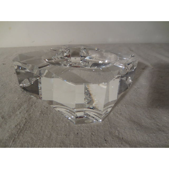 Clear Crystal French Ash Tray - Image 2 of 5
