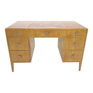 Edward Wormley for Dunbar Leather Top Desk