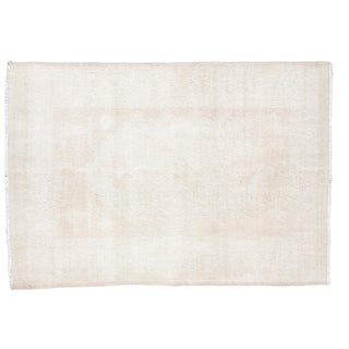 "Distressed Oushak Rug - 4'2"" x 6'"