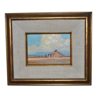 "Robert Knudson ""Summer"" Oil Painting c.1974"