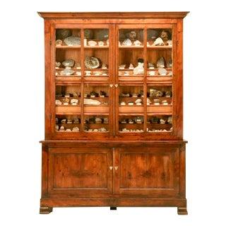 French Specimen Cabinet or Bookcase, circa 1891
