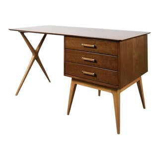 Renzo Rutili for Johnson Furniture Vintage Partners Desk 1960's